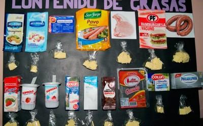 En el día de la nutrición, descubrimos la cantidad de grasas saturadas de los alimentos
