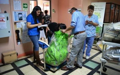 Campaña de Reciclaje COAR, el espíritu de Hospital Verde