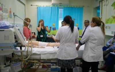 Nuestra UPC atiende al primer paciente en ECMO del sistema público