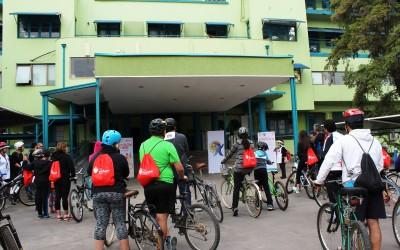 Hospital Roberto del Río fue parte de la  1ra Cicletada Familiar del Servicio Metropolitano Norte