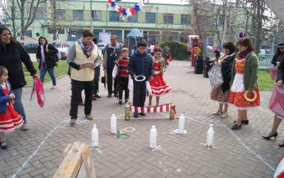 Usuarios y funcionarios disfrutaron de las celebraciones de fiestas patrias en nuestro Hospital