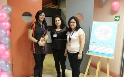 Equipo de Chile Crece Contigo celebra sus 6 años junto a los niños de nuestro Hospital