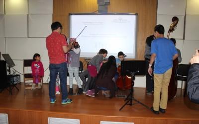 Fundación Orquesta Juveniles visita nuestra Hospital