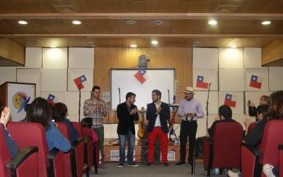 """Grupo """"La Patota"""" animó las Fiestas Patrias de los funcionarios en el RobertoCulturizarte"""