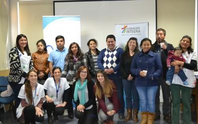 Equipo de Integra realiza taller de sensibilización de la violencia intrafamiliar