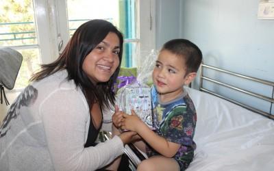 Alegre  y conmovedora Navidad en el Hospital Roberto del Río