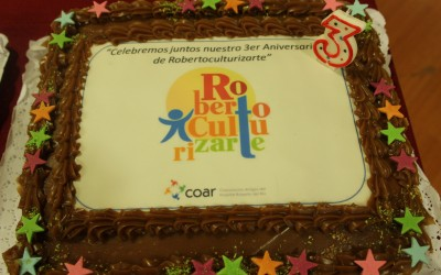 Robertoculturizarte celebra su cumpleaños N° 3  en grande