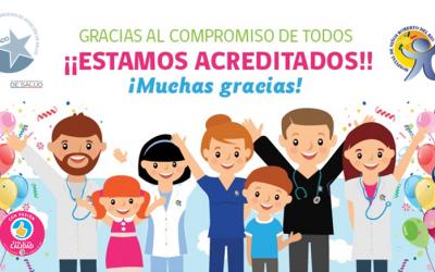 ¡Con el compromiso de todos nuestros funcionarios el Hospital Roberto del Río ha sido Acreditado!