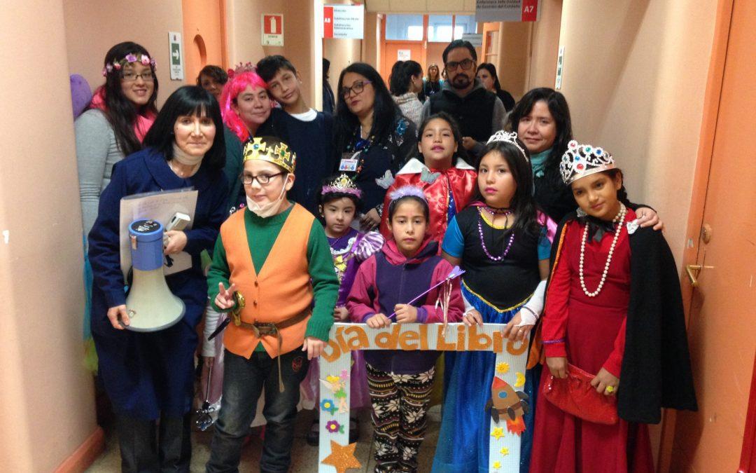 Con entretenidas representaciones, la Escuela Hospitalaria celebra el Día Mundial del Libro