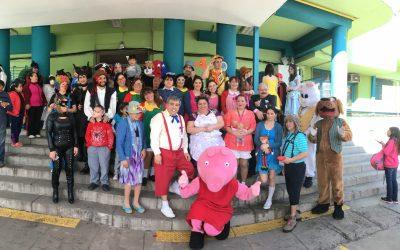 Con mucha alegría y emoción todo el Hospital celebró a los niños en su día