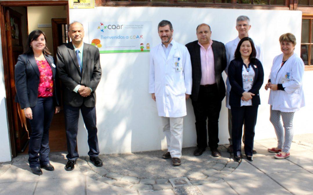 Embajador de Malasia y directivos de The Chilean Malasian Cultural and Business Corporation se reunen con autoridades de nuestro Hospital y COAR