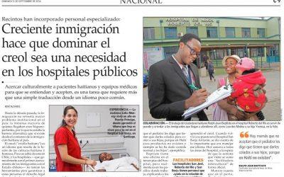 Prensa: Facilitador intercultural de nuestro Hospital favorece la integración de inmigrantes