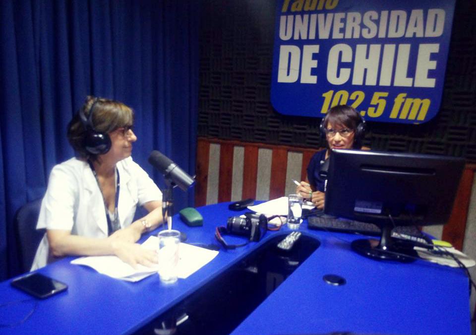 Nuestra Psiquiatra habla de Depresión Infantil en Radio Universidad de Chile