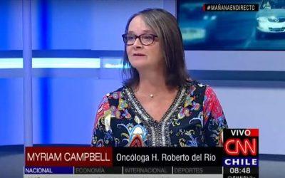 Día Internacional del Cáncer Infantil: Dra. conversa con CNN sobre la realidad de esta patología y el exitoso programa a nivel nacional
