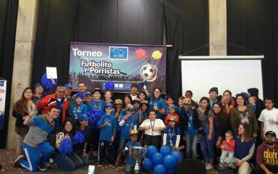 Pacientes de Oncología obtienen 1er y 3er lugar en Torneo de Porristas y Futbolito