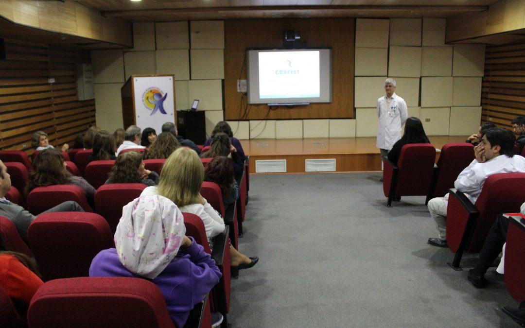 Director Presenta Cuenta Pública Gestión 2016 destacando los logros desarrollados y los desafíos para este año