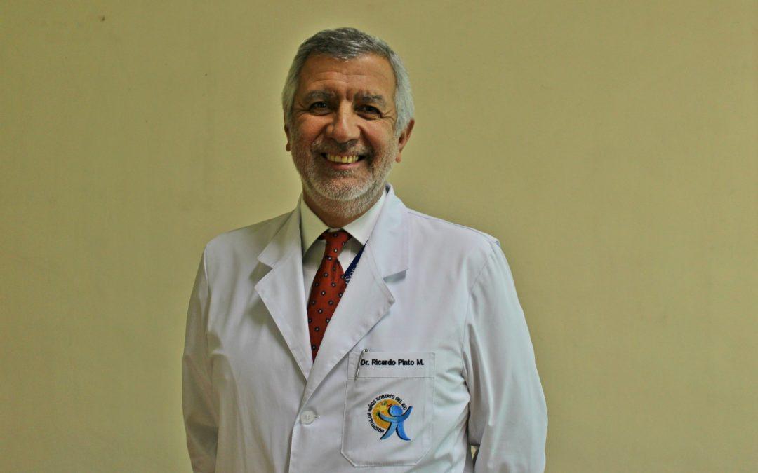 Dr. Ricardo Pinto asumió como nuevo Director de nuestro Hospital