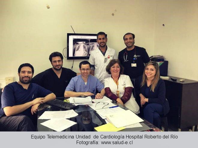 Equipo Cardiología Hospital Roberto del Río