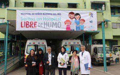 Nuestro Hospital se declara como Libre de Humo de Tabaco
