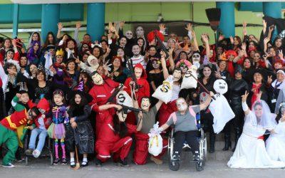Hospital Roberto del Río celebró un Halloween Saludable