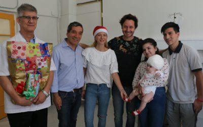 Intensa y emotiva Navidad se vivió este año en nuestro Hospital