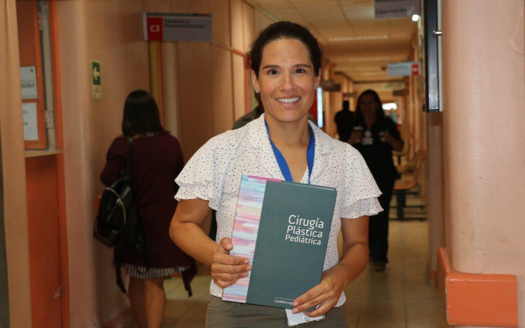 Dra. Carolina Lagos escribe, recopila y edita el primer Manual de Cirugía Plástica Pediátrica del país