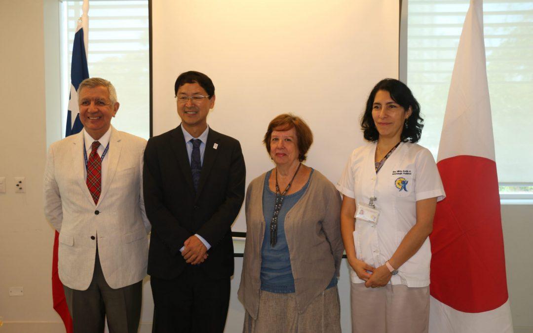 Embajada de Japón dona cunas clínicas a la Unidad de Cuidados Intensivos