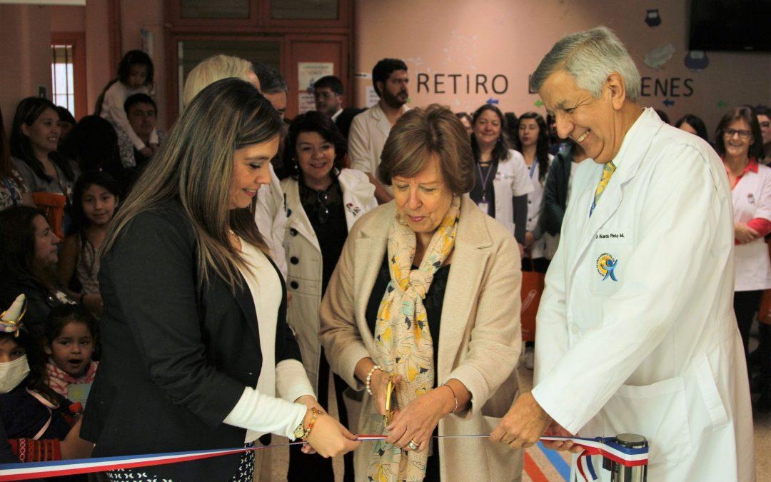 En su Aniversario 27 la COAR inauguró la Nueva Sala de Entretención del Hospital de Niños Roberto del Río