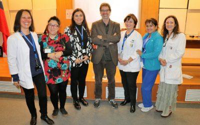 José Andrés Murillo expuso sobre Maltrato Infantil en el Hospital Roberto del Río