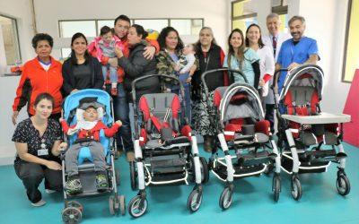 Hospital Roberto del Río aumenta la entrega de Ayudas Técnicas a las familias de niños médicamente complejos