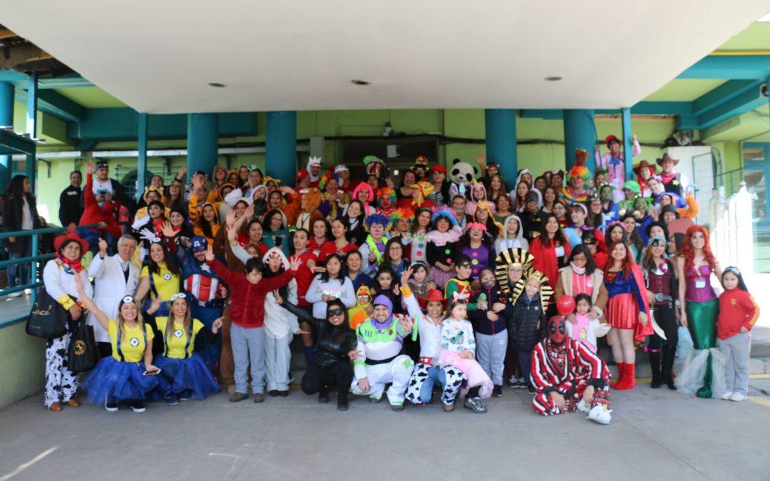 Comunidad Hospitalaria celebra el «Día del Niño» con sus mejores disfraces (Galería Fotográfica)
