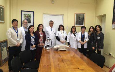 Facultad de Medicina de la Universidad de Chile entrega equipos por convenio asistencial docente al Hospital Roberto del Río