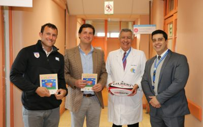 El rugby de menores aporta a nuestro hospital