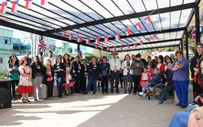Funcionarios del Roberto del Río celebraron las Fiestas Patrias con un nuevo espacio para la Comunidad Hospitalaria