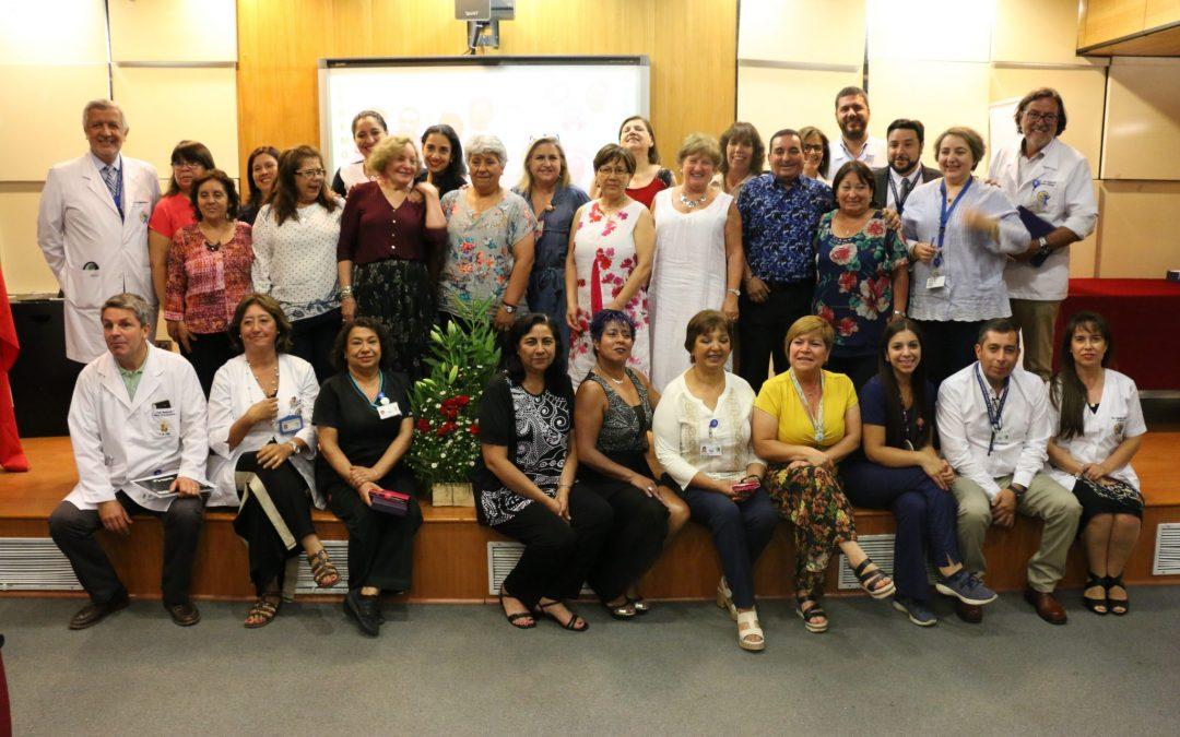 Hospital Roberto del Río homenajeó a 19 funcionarios que se acogieron a Retiro Laboral