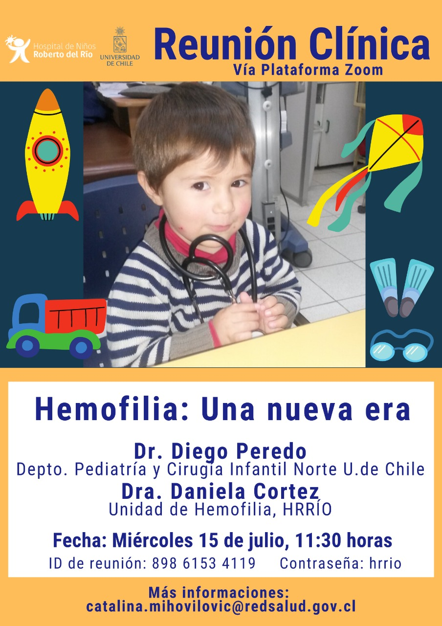 """Tema: """"Hemofilia: Una nueva era"""""""