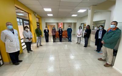 Nuestro Hospital remodela y entrega la nueva Unidad de Gestión de Usuarios