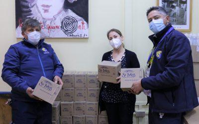 Donación Desafío Levantemos Chile a Hospital Roberto del Río