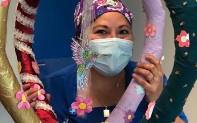 Oncohematología participa en exposición de arte virtual