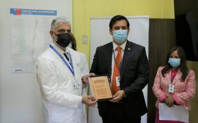 Reconocimiento de Superintendencia de Salud a nuestro Hospital